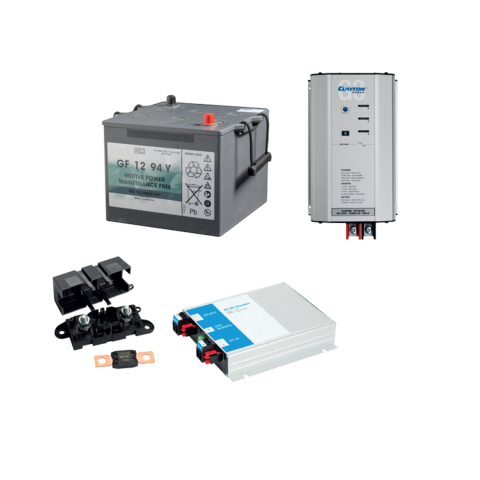 AGM Batteri Inverter Lithium Power Supply Powersource