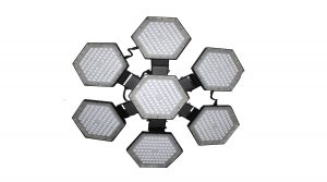 HoneyComb LED belysning fra www.PowerSource.no
